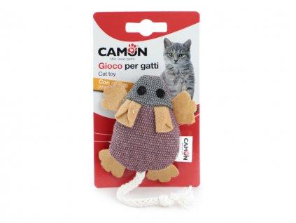 hracka pro kocky myska camon fialova