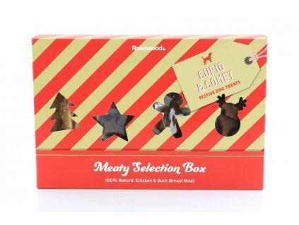 vanocni pamlsky pro psy vyberovy box rw