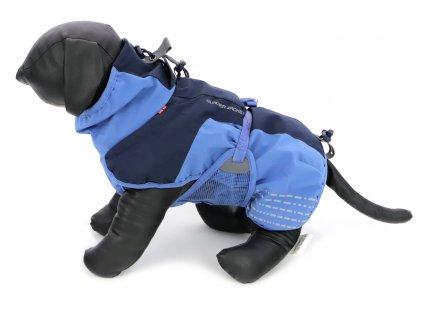 outdoorovy oblecek pro psy glacier jacket modry 2