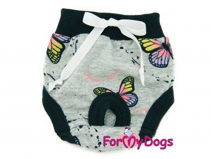 haraci kalhotky fmd butterfly gray
