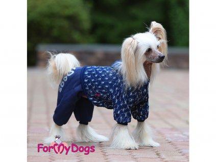 zimni oblecek pro psy fenky denim hood 7