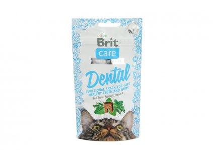 dentalni pamlsky pro kocky brit dental