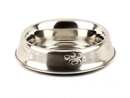 Nerezová miska pro psy s vyvýšeným dnem