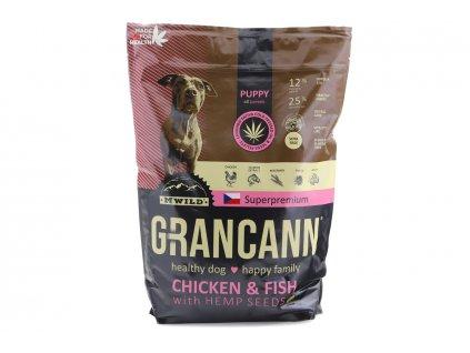 granule pro stenata grancann chicken fish