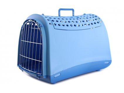 prepravka pro psy kocky imac svetle modra