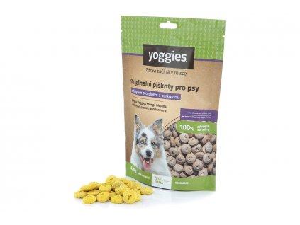 Originální piškoty pro psy s hmyzím proteinem a kurkumou