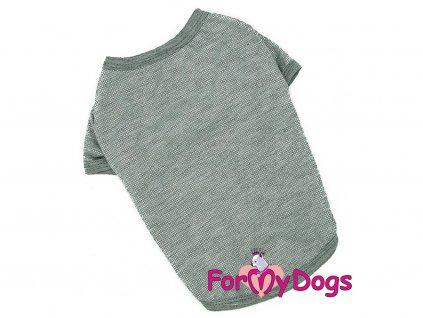 Obleček pro psy i fenky – tričko FMD SILVER