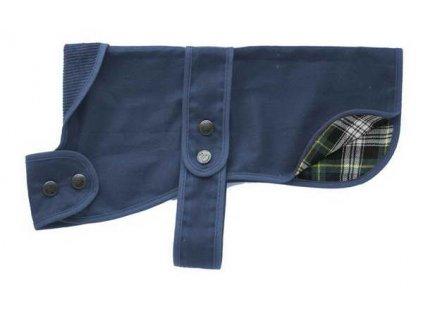 Nepromokavý kabát pro psy a fenky HUNTER COAT BLUE