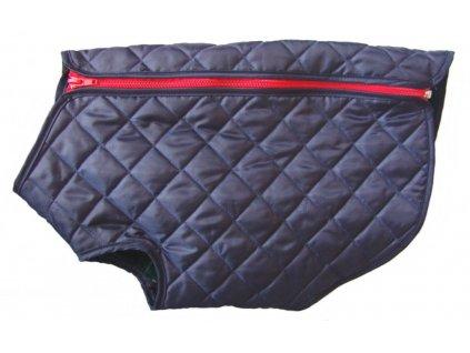 Obleček pro psy i fenky – nepromokavý kabát Cosipet Quilted, modrý