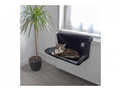 Závěsný pelíšek pro kočky na radiátor – HAMAC PANDA