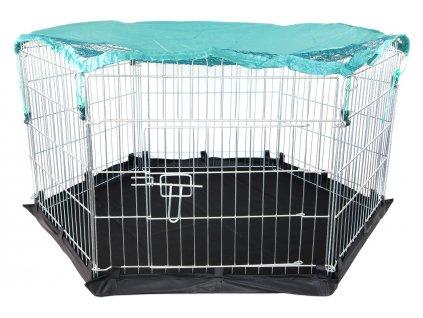 Univerzální kovová ohrádka pro štěňata, malé psy, kočky a další drobná domácí zvířata