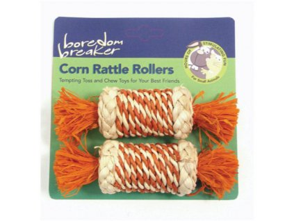 Pamlsek pro hlodavce Corn Rattle Rollers
