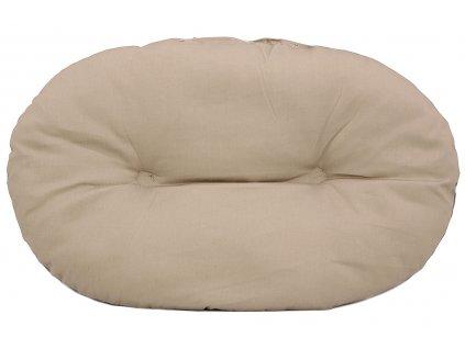 Jednoduchá matrace pro psy vhodná i do plastových pelíšků. Protiskluzová úprava, lze ji prát v pračce na 30 °C.