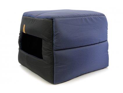 Pelíšek – bouda pro psy REXPRODUCT modrá (5)