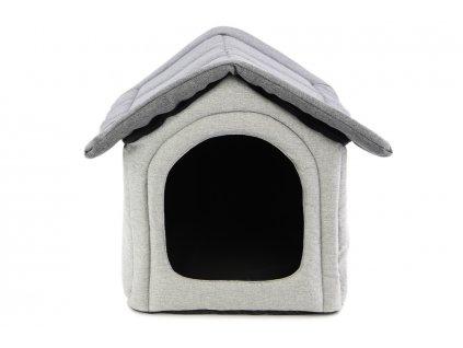 Textilní boudička pro psy REXPRODUCT, šedá