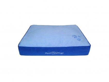 Luxusní matrace pro psy RED DINGO, modrá
