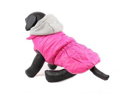 Zimní bunda pro fenky URBAN PUP, růžová