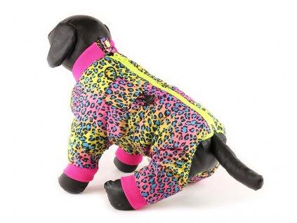 Obleček pro psy – šusťákový zimní overal pro fenky od For My Dogs