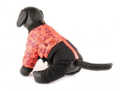 Oblečky pro psy – zimní overal pro fenky od For My Dogs z nepromokavého materiálu.