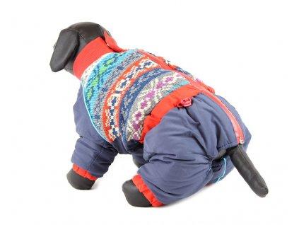 Oblečky pro psy – zimní overal pro psy For My Dogs, nylon s úpletem