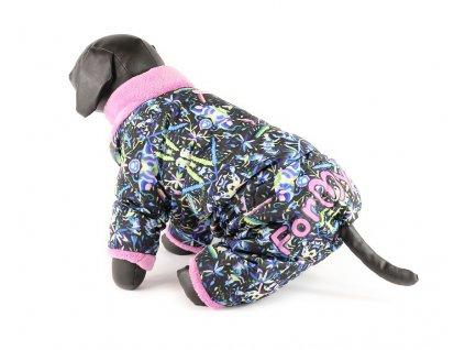 Extra zateplený zimní overal pro fenky For My Dogs