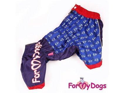 Overal, pláštěnka pro psy For My Dogs, modrá