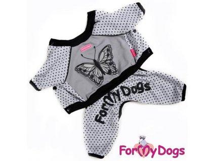 Oblečky pro psy – bavlněný overal pro psy a fenky For My Dogs, motýl