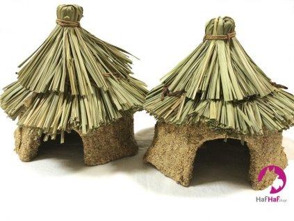 Jedlý domeček pro hlodavce – hračka na kousání PLAY SHACK