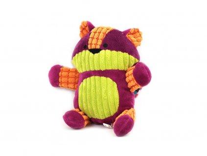 Plyšová pískací hračka pro psy ROSEWOOD Charlie Cat