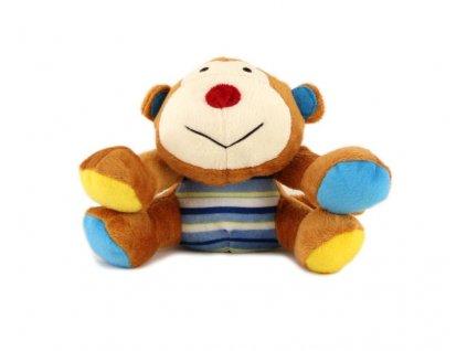 Plyšová pískací hračka pro psy ROSEWOOD MARVIN MONKEY vyrobená z kvalitních netoxických materiálů. (2)