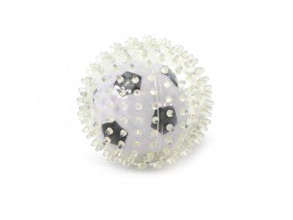 Originální hračka – průhledný míček pro psy, který ukrývá další míček