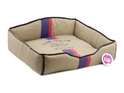 Luxusní pelech pro psy v originálním retro designu BOBBY. Vyjímatelný pohodlný polštář, možnost praní v pračce.