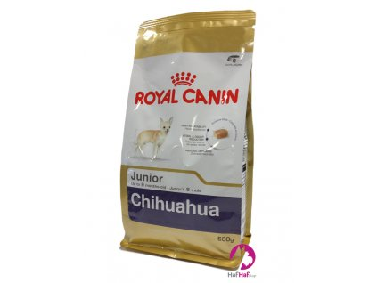 Granule pro psy Royal Canin Chihuahua Junior 500 g