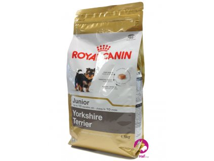 Granule pro psy Royal Canin Yorkshire Terrier Junior 1,5 kg