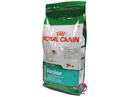 Granule pro psy Royal Canin Mini Junior 2 kg