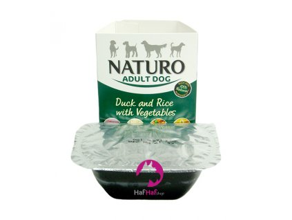 NATURO Adult Dog Duck and Rice with Vegetables 150 g