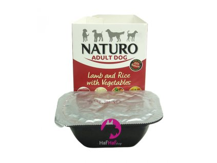 Naturo Adult Dog Lamb and Rice with Vegetables 150 g