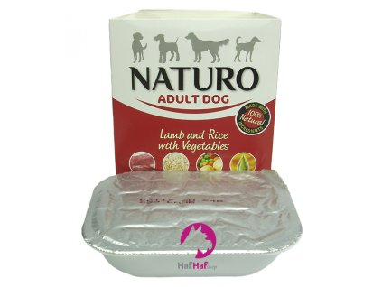 Naturo Adult Dog Lamb and Rice with Vegetables 400 g