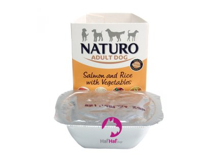 Naturo Adult Dog Salmon and Rice with Vegetables 150 g