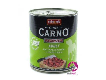 Animonda Gran CARNO ADULT Kaninchen +Kräutern 800 g
