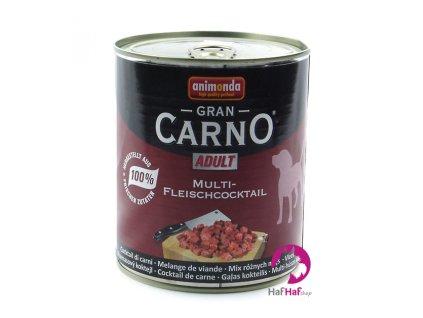 Kompletní krmivo pro psy Animonda 800 g, hovězí, kuřecí, krůta, zvěřina