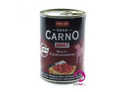 Kompletní krmivo pro psy Animonda 400 g, hovězí, kuřecí, krůta, zvěřina