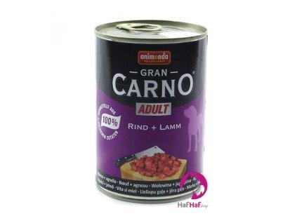 Kompletní krmivo pro psy Animonda 400 g, hovězí a jehně