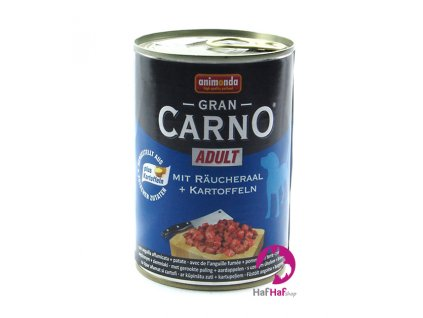 Animonda Gran CARNO ADULT Räucheraal +Kartoffeln 400 g