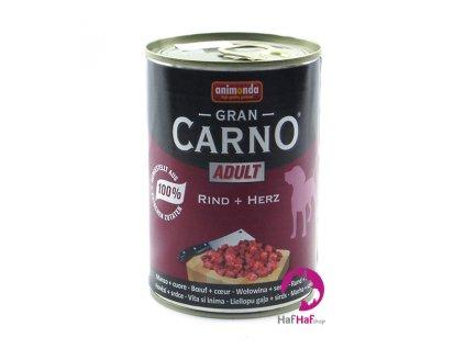 Kompletní krmivo pro psy Animonda 400 g, hovězí + srdce