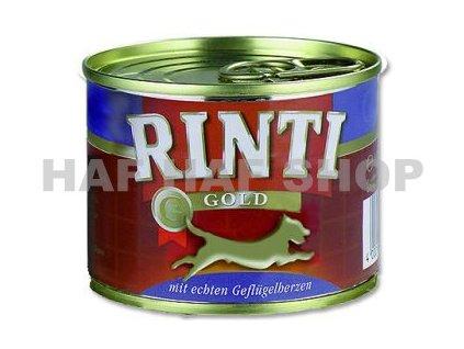 Rinti  Gold drůbeží srdíčka 185g