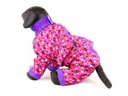 Pláštěnka pro fenky, fialová