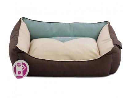Pelíšek pro psy v originálním designu BOBBY. Vyjímatelný pohodlný polštář, možnost praní v pračce, tři velikosti, protiskluzová úprava.