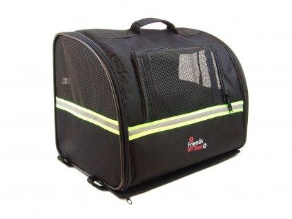 Box taška pro psa na nosič kola