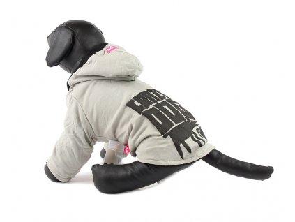 Obleček pro psa – bavlněná mikina pro psy i fenky, šedá